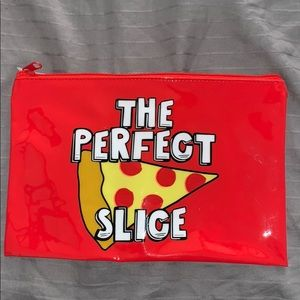 Handbags - Pizza lovers. !!! Really cute pizza pouch